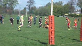 Match Action v Bamber Bridge U15s
