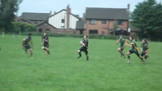 Matts 1st try v Portico