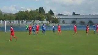 Bootle Vs Colne first goal of 2013/14 league season