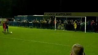 Senior Cup Final - Penalties And Cup Presentation