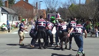 St. Patty's Day Parade Line-Out