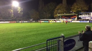 Jake Rose Free Kick v Canvey Island 181114