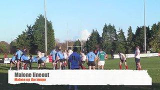 Malone -v- UCD 2nd Half