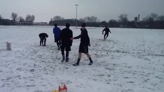 Boro training in the snow 3
