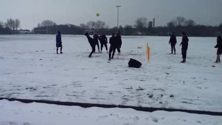 Boro training in the snow 7