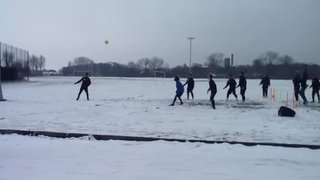 Boro training in the snow 8