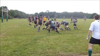 Marshall Try For Wanderers v Camelford 20/09/14