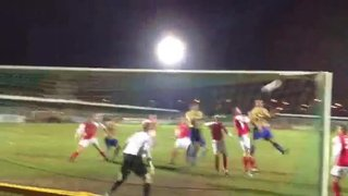 Jack Barry scores against Needham Market