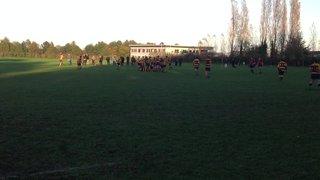 Sittingbourne v Vigo 02.11.14 - Liam Try 2