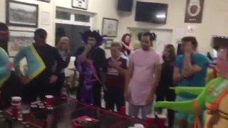 Beer Pong Championship 2016 - The Winning Shot