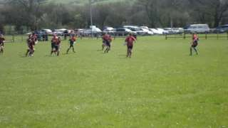 Wivey U15s try at Castle Cary