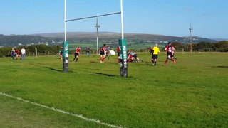 Bloomfield Try. Chiefs v Tavistock 26-09-15 (last play of Game to win bonus point).