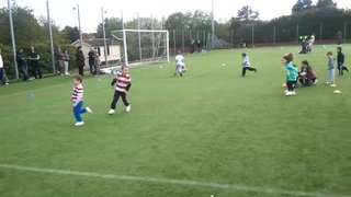 cubs and u7,s enjoy a game of thief