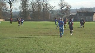 Kick off between Chadlington and Freeland A (01.12.12)