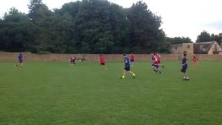 Chadlington FC pre-season training 06.08.13