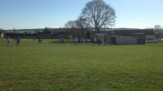 Chadlington U15s open the scoring against Hanborough (16.03.14)