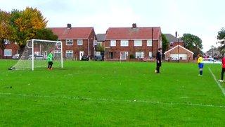 Aarons first half penalty