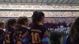 Teddington U13 Girls at Twickenham