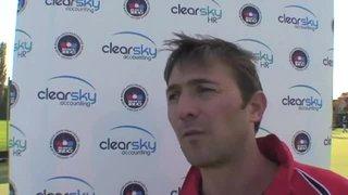 Brooklands V Reading Post Match Interviews