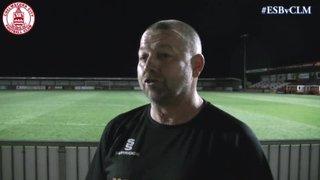Mark Hawkes Interview - Eastbourne Borough 2 vs 0 Clarets