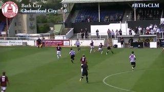 Bath City vs Chelmsford City - Highlights