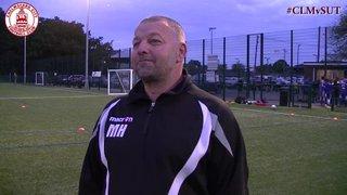 Sutton United & Bishop Stortford Preview - Mark Hawkes & Luke Callander Interview