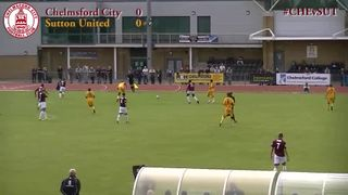 Chelmsford City vs Sutton United - Highlights