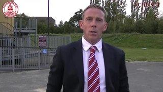 Mark Hawkes & Glen Southam Interview - Clarets 1 vs 1 Sutton United