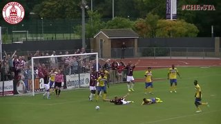 Glen Southam Penalty vs Staines Town (h)