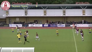 Chelmsford City vs Staines Town - Highlights