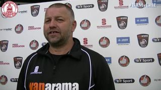 Mark Hawkes & Christian Smith Interview - Bromley 0 vs 1 Clarets