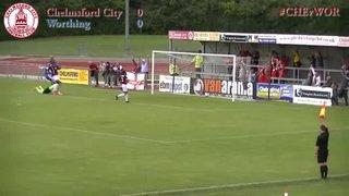 Chelmsford City vs Worthing - Highlights