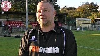 Mark Hawkes & Mark Hughes Interview - Whitehawk 4 vs 4 Clarets
