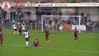 Havant & Waterlooville vs Chelmsford City - Highlights