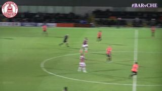 Joe Ward Goal vs Barnet (a)