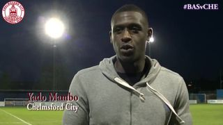 Mark Hawkes & Yado Mambo Interview - Basingstoke Town 1 vs 2 Clarets