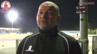 Mark Hawkes & Lee Sawyer Interview - Clarets 1 vs 1 Hayes & Yeading United