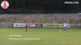 Yado Mambo Goal vs Whitehawk (a)