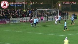 Chelmsford City vs Wealdstone - Highlights