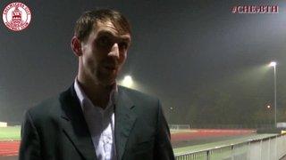 Mark Hawkes & Mark Hughes Interview - Clarets 2 vs 1 Bath City