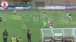 Chelmsford City vs Hemel Hempstead Town - Highlights