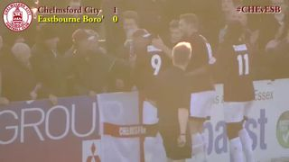 Chelmsford City vs Eastbourne Borough - Highlights