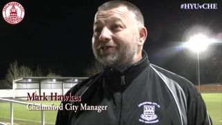 Mark Hawkes & Lee Sawyer Interview - Hayes & Yeading 2 vs 1 Clarets
