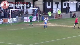 Hayes & Yeading United vs Chelmsford City - Highlights