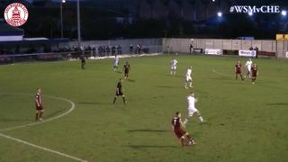 Lee Sawyer Penalty vs Weston-Super-Mare (a)