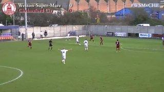Weston-Super-Mare vs Chelmsford City - Highlights