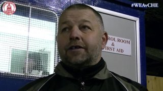Mark Hawkes Interview - Wealdstone 4 vs 2 Clarets