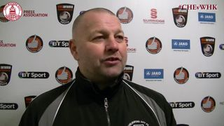 Mark Hawkes Interview - Clarets 2 vs 1 Whitehawk