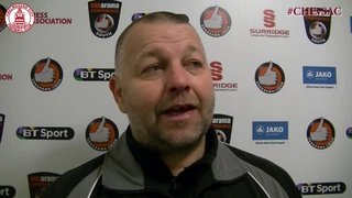 Mark Hawkes & Lee Sawyer Interview - Clarets 2 vs 1 St Albans City