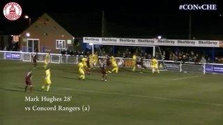 Mark Hughes Goal vs Concord Rangers (a)